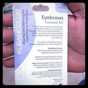 Black Brown Eyebrow Kit